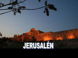 JERUSALÉN---www.laboutiquedelpowerpoint.com
