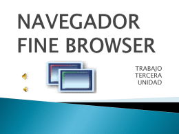 NAVEGADOR FINE BROWSER - Capacitacion Blog |