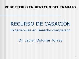 CASACIÓN - Estudio de Abogados Galvez y Dolorier