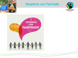 Diapositiva 1 - Fairtrade Iberica