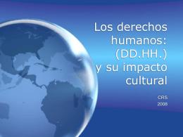 Los derechos humanos: DD.HH.