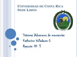 Universidad de Costa Rica Sede Limón