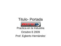 Titulo- Portada