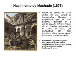 Biografía de Machado