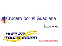Crucero por el Guadiana