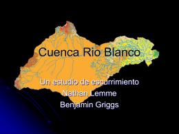 Cuenca Rio Blanco
