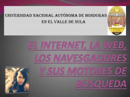 EL INTERNET Y SUS MOTORES DE BUSQUEDA