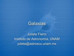 Galaxias - Instituto de Astronomía