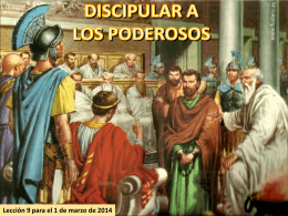 Diapositiva 1 - Escuela Sabática