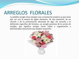 ARREGLOS FLORALES - Organización de Eventos |