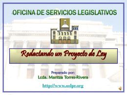 Como Redactamos un Proyecto de Ley