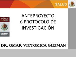 OMAR VICTORICA GUZMAN MD. PhD. MPH.