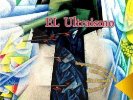 El Ultraismo - Colegio Teresiano Los Angeles
