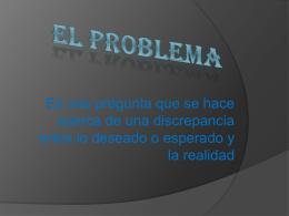 EL PROBLEMA - informationsupport