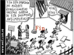 Pacifistas bolivarianas protestan ante la embajada