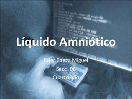 Líquido Amniótico - Seccionseis's Weblog