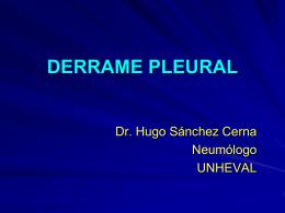 DERRAME PLEURAL - medicinaunheval