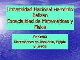 Universidad Nacional Hermilio Valdizan