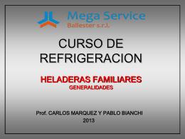 CURSO DE REFRIGERACION HELADERAS DOMESTICAS