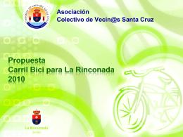 Propuesta Carril Bici para La Rinconada 2010