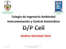 Instrumentación y Control Automático DP-CELL