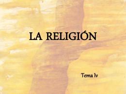 HECHO RELIGIOSO
