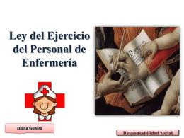 Ley del Ejercicio del Personal de Enfermería -