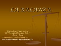 LA BALANZA - VivalaP65