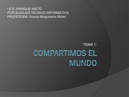 COMPARTIMOS EL MUNDO