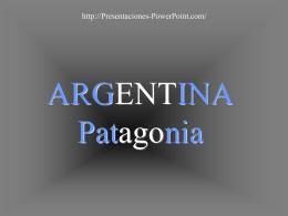 Esta es la Patagonia parte de nuestro pais. ¡Lo