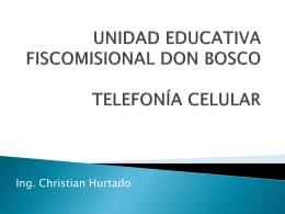 UNIDAD EDUCATIVA FISCOMISIONAL DON BOSCO TELEFONÍA