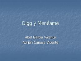 Digg y Menéame