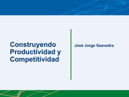 Construyendo Productividad y Competitividad