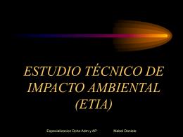 PROCEDIMIENTO TÉCNICO ADMINISTRATIVO DE ESTUDIO DE