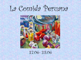 La Comida Peruana - marketing2021 [licensed for