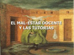 EL MAL-ESTAR DOCENTE - Universidad Veracruzana