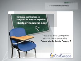 FINANZAS INTERMEDIAS