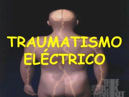 TRAUMATISMO ELÉCTRICO - Brigada de Seguridad