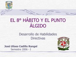 EL 8° HÁBITO Y EL PUNTO ÁLGIDO