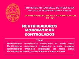 RECTIFICADORES CONTROLADOS