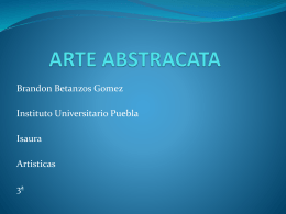 ARTE ABSTRACATA