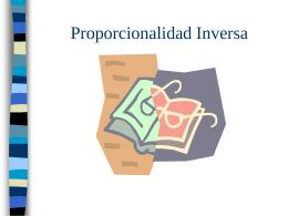Proporcionalidad Inversa - Multimedia Project en