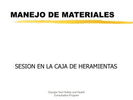 PowerPoint Presentation - USO, LIMPIEZA Y MANEJO