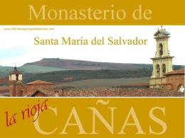 Monasterio de Santa María del Salvador de Cañas