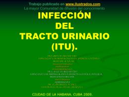 INFECCIÓN DEL TRACTO URINARIO (ITU).