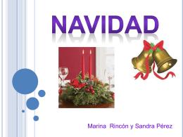 PPT sobre la Navidad de Sandra Pérez y Marina