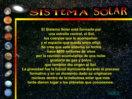EL SISTEMA SOLAR - Tecnologia-Educativa-UCR