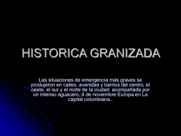 HISTORICA GRANIZADA