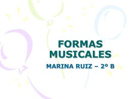 FORMAS MUSICALES - Mcarmenfer`s Blog | Blog de