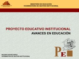 Diapositiva 1 - Ministerio de Educación del Perú |